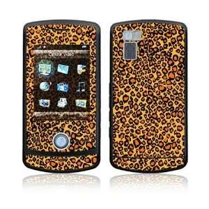 Orange Leopard Decorative Skin Cover Decal Sticker for LG