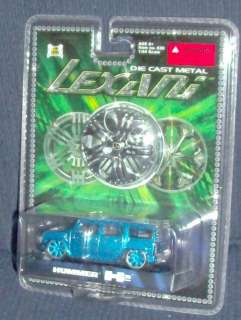 Lexani Blue Hummer H2 Die cast metal 164 scale
