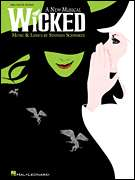 Wicked Musical Big Note Easy Piano Sheet Music Book NEW
