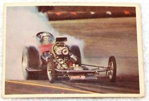 1965 SPEC SHEET HOT RODS MAGAZINE TRADING CARDS #29