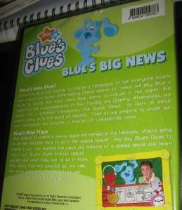 BLUES CLUES BLUES BIG NEWS 2 EPS ORIG DVD REG 0 SEALE