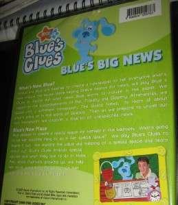 BLUES CLUES BLUES BIG NEWS 2 EPS ORIG DVD REG 0 SEALE