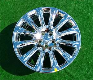 NEW 2011 2012 Genuine Chrysler 300C OEM Factory CHROME 20 inch WHEEL