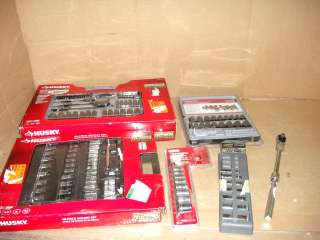 WHOLESALE LOT OF ASSORTED NAME BRAND SOCKET SETS