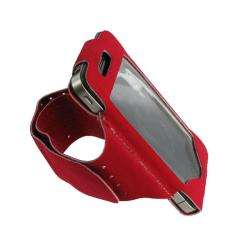 rooCASE Apple iPhone 4 Red Sports Armband Case