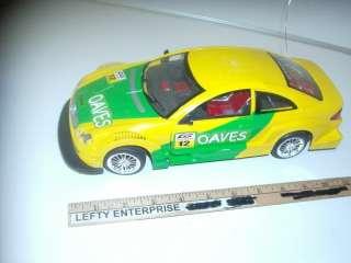 MERCEDES BENZ YELLOW&GREEN CAR #12 NO REMOTE CONTROLLER FOR PARTS