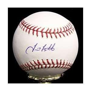 Travis Ishikawa Autographed Baseball   Autographed Baseballs: