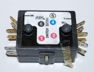 Kenmore Whirlpool Dryer Motor Switch Part # 33882 3373513388235, K35