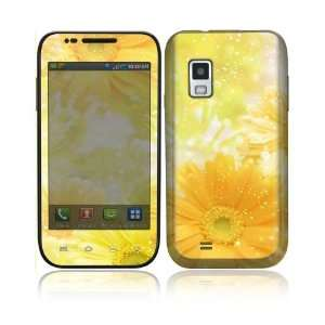 Yellow Flowers Decorative Skin Cover Decal Sticker for