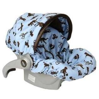 Baby Bella Maya Little Boy Blue Infant Car Seat Cover