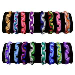 Friendship Bracelets Colorful Handmade Assorted 1,000