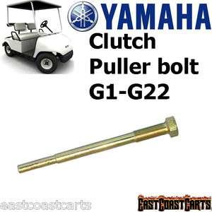 Yamaha G1 G22 Golf Cart Clutch Puller Bolt 90890 01876