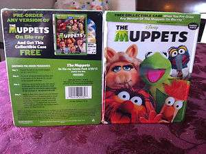 Muppets Blu ray Steelbook Iron Pak Disney Collectible Case Best Buy