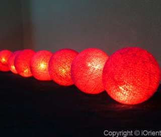 3M GLOBE BALL FAIRY LIGHTS/STRING LIGHTS INDOOR/PARTY