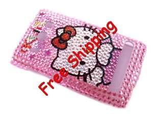 Hello kitty hard back Rhinestone Bling Case HTC Evo 4G