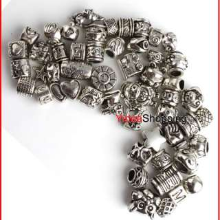 150x Bulk Lots Assorted Mixed Tibetan Silver Bead P1315