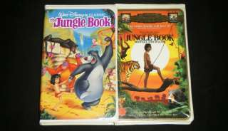 SECOND JUNGLE BOOK MOWGLI AND BALOO Nice Family VHS Movie Set