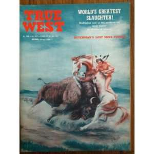 True West, April 1956, Vol. 3, No. 14: Fred Gipson: Books