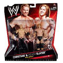 WWE Series 9 Action Figure 2 Pack   Christian vs. Heath Slater