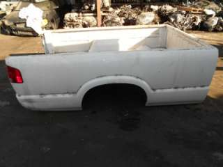 94 03 CHEVY S10 S15 PICKUP TRUCK BED LONG BOX WHITE 02 01 00 99 98