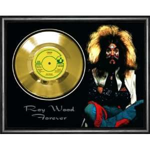 Roy Wood Forever Framed Gold Record A3 Musical