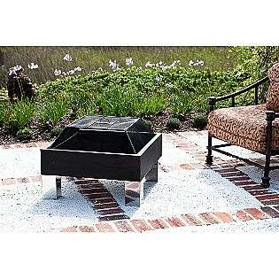 HotSpot Square Fire Pit  Fire Sense Outdoor Living Firepits & Patio