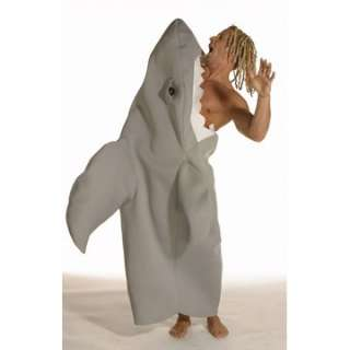 Adult New Shark Attack Costume   Shark Attack New Style   One piece