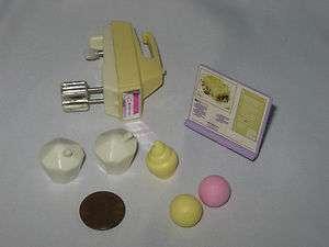 Mattel Barbie Doll Food Pieces Parts