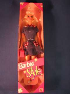 1997 BARBIE STYLE DOLL SEALED IN BOX MATTEL 18219