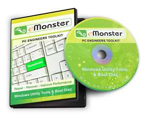 PC & Laptop Repair Recovery Boot for Windows XP/Vista/7