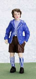 dollhouse miniature JOHN BOY FIGURE DOLL PEOPLE NEW