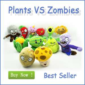 VS Zombies Soft Plush Toy With Sucker A full setof 12 tm0347 hot