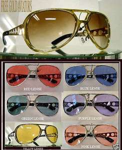 PACK SUNGLASSES AVIATOR LARGE MULTI COLOR ELVIS