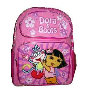 the Explorer and Boots Canvas Medium Backpack Bag Tote Toys & Games