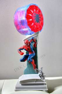 NEW SPIDERMAN FRIENDS TABLETOP BEDSIDE LAMP NIGHT LIGHT
