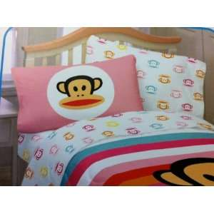 Paul Frank COMPLETE Bedding Set ~TWIN. Sheet Set & Reversible