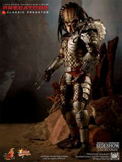 CLASSIC PREDATOR 12 FIGURE HOT TOYS SIDESHOW AWESOME