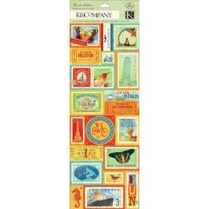 K and Company   Around the World Collection   Embossed