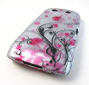 FLOWERS HARD CASE COVER BLACKBERRY TORCH 9850 9860 PHONE ACCESSORY