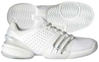 Adidas Barricade 6.0 Women Tennis Shoe White/Slver/Grey