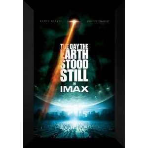 Day the Earth Stood Still 27x40 FRAMED Movie Poster
