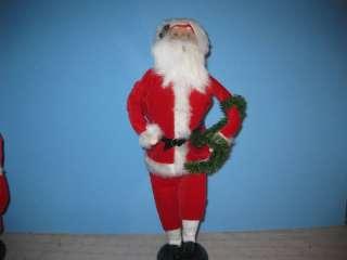 Byers Choice 1998 Talbots Exclusive Dancing Santa Claus