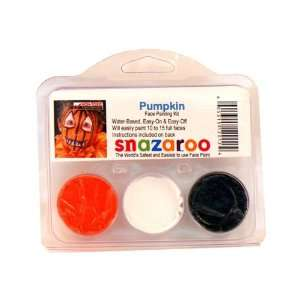 Snazaroo Face Painting Products T 12012 PUMPKIN THEME PACK