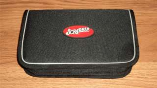 Scrabble Folio Edition Zip Case Portable Travel Game