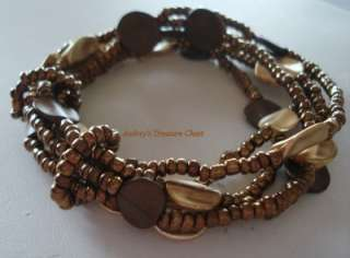 Premier Designs CHESTNUT Bracelet NEW $49 USA