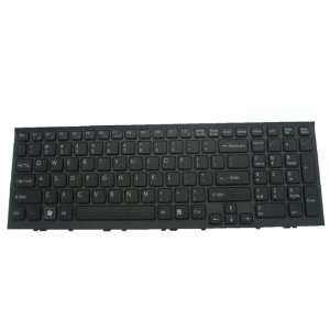 LotFancy New Black With Black Frame keyboard for Sony Vaio