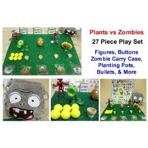 Zombies, 2 Plants vs Zombies Sticker Sheets, and 5 Plants vs Zombies