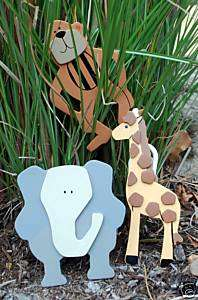 Jungle/Safari baby QUILT CLIPS monkey/elephant/giraffe