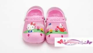 Kitty Garden with the Crocs Custom Clog Kids Crocs Sandals
