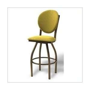 Vinyl   Naugahyde Sage Grand Rapids Chair Opera 24 to 30